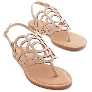 Peony More Where That Came From Nude Sandal